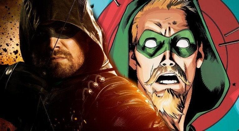 Stephen Amell Goatee Green Arrow
