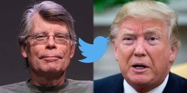 stephen king donald trump twitter