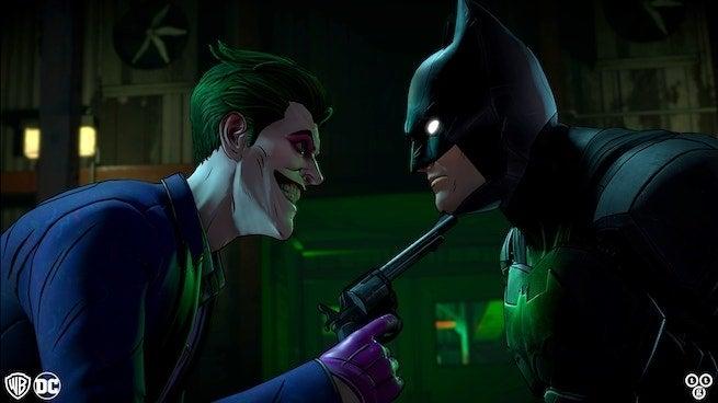 Telltale's Batman- The Enemy Within