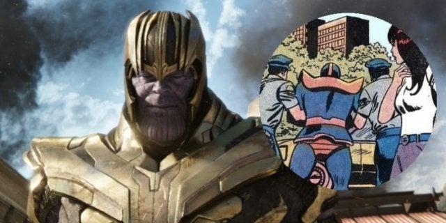 Thanos arrested ComicBookcom