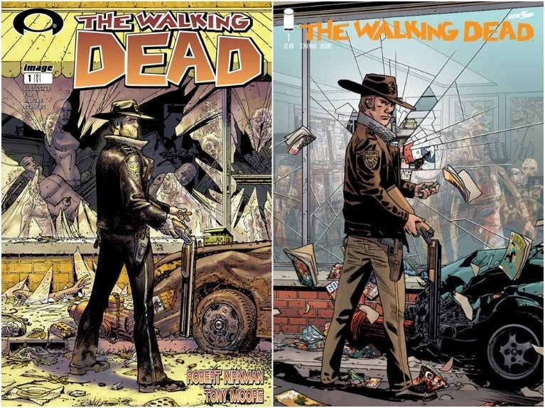 The Walking Dead #1 15th Anniversary comicbook.com