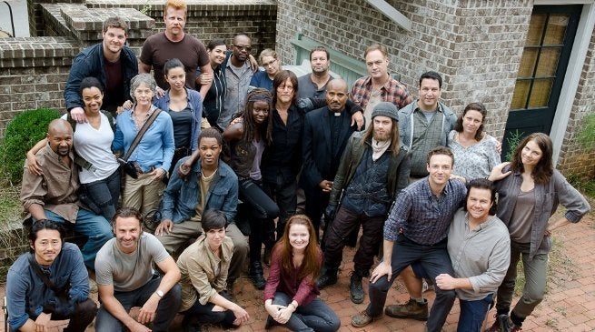 The Walking Dead Cast Andrew Lincoln Departs