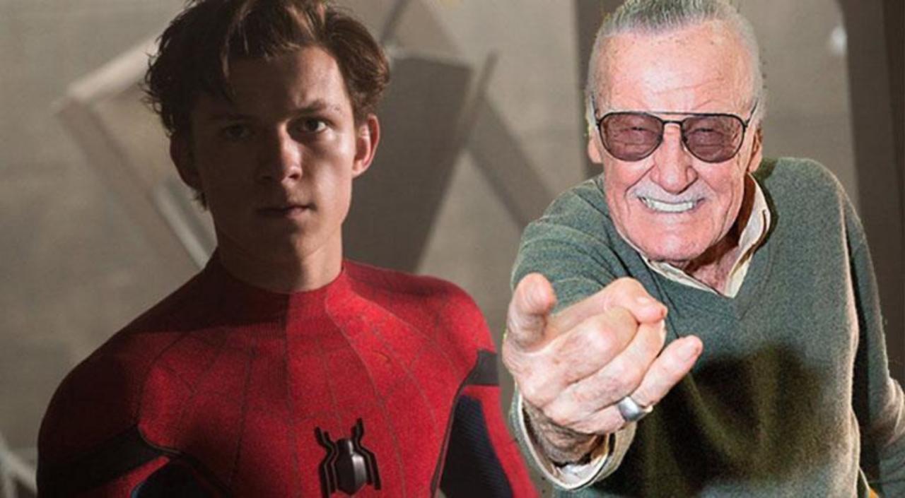 Stan Lee James Gunn Tom Holland Spider-Man