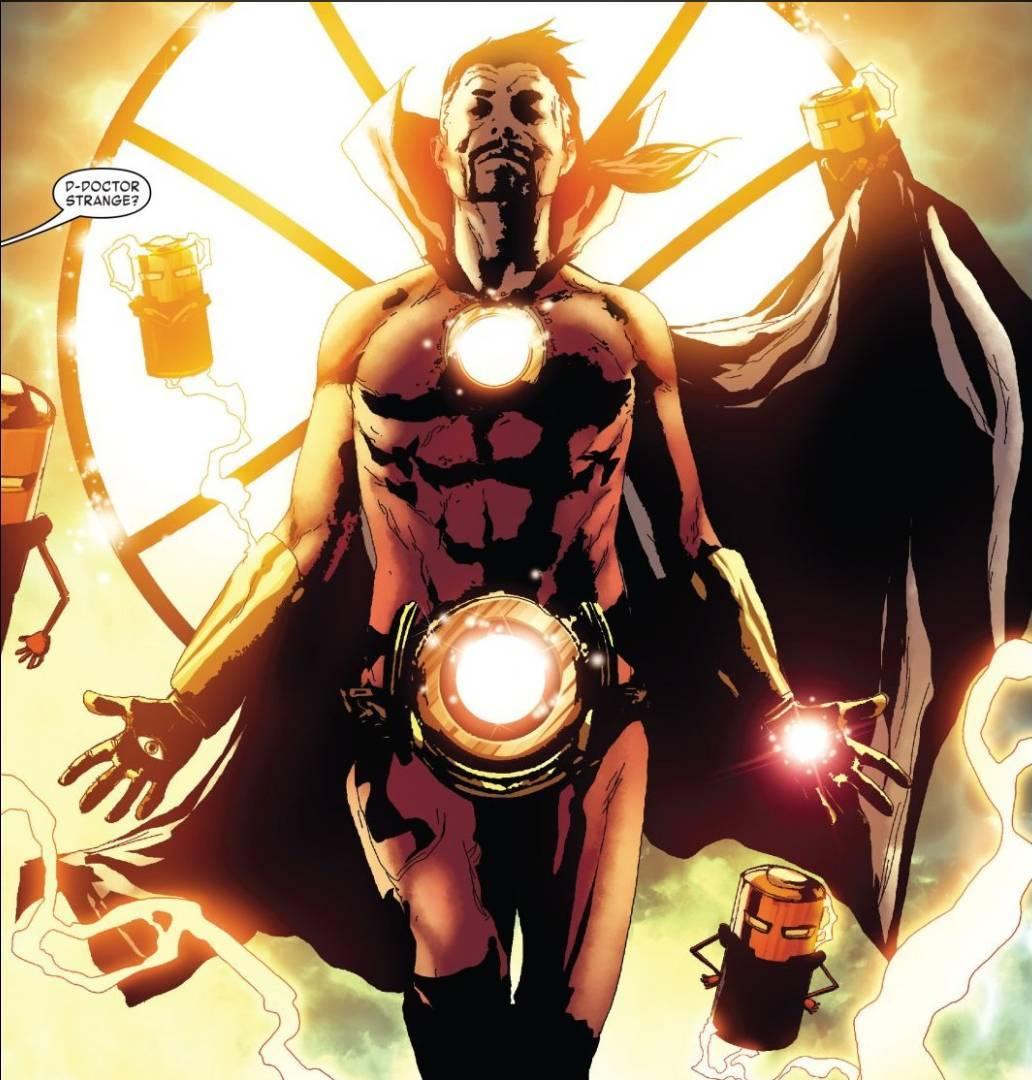 Tony Stark Sorcerer Supreme