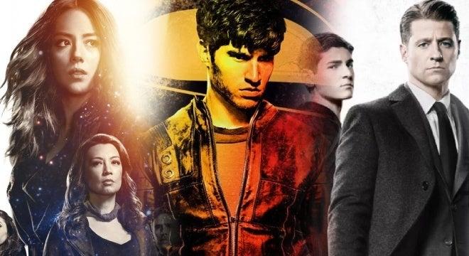tv upfronts krypton gotham shield