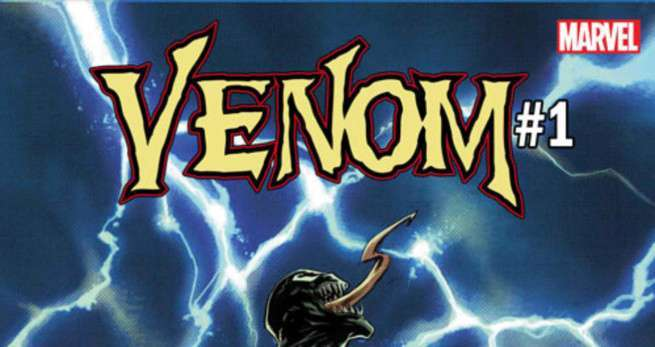Venom #1 Stegman Cates - Logo