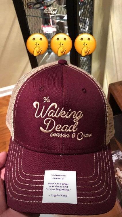 Walking Dead AMC hat