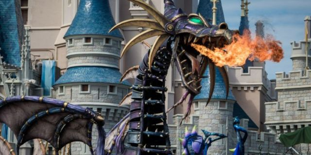 Walt Disney World Maleficent float