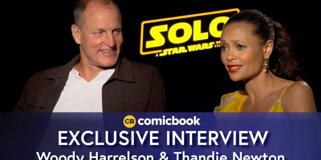 Woody Harrelson and Thandie Newton Talk 'Solo: A Star Wars Story' screen capture