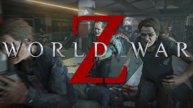 world war z zombies running