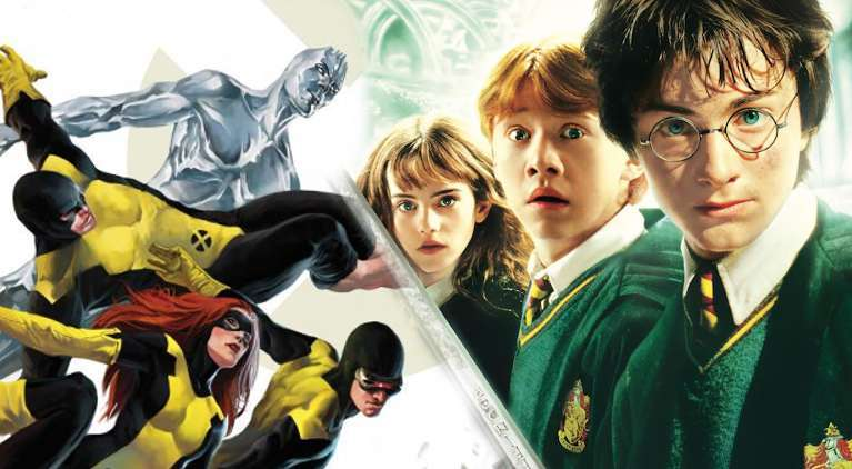 X-Men Harry Potter