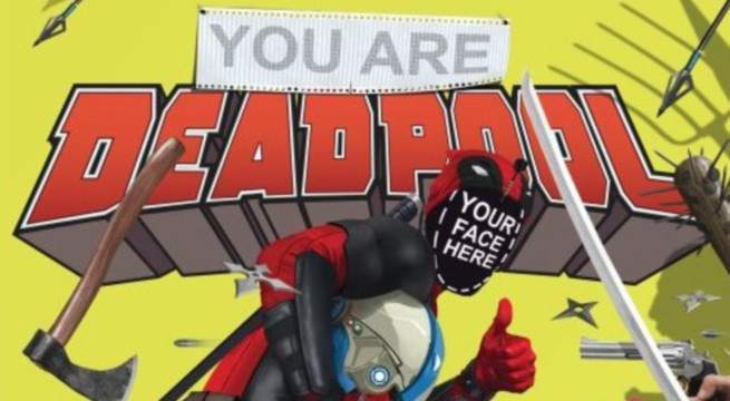 You Are Deadpool - Cover