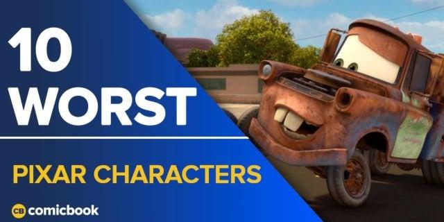 10 Worst Pixar