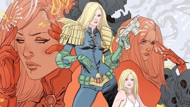 2000 AD Summer Special Interview - Marguerite Sauvage