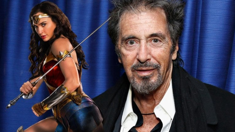 Al Pacino Wonder Woman
