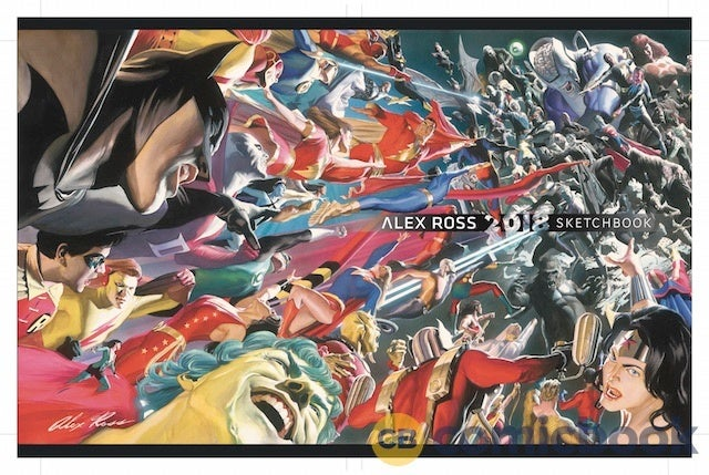 AlexRoss-SDCCSketchbook2018 HardCover FINAL