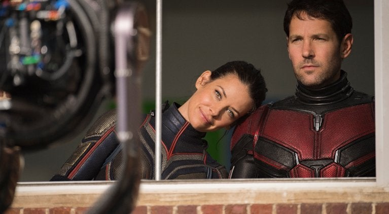 Ant-Man and the Wasp behind-the-scenes