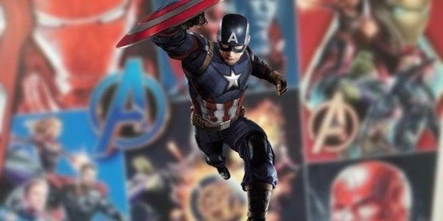 Avengers 4 Captain America New Costume