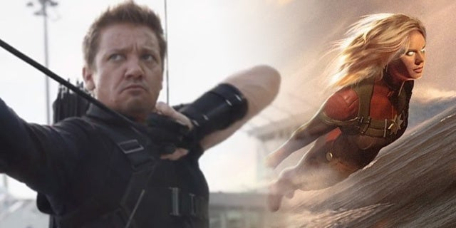New Avengers 4 Character Designs Reveal Hawkeye Captain Marvel