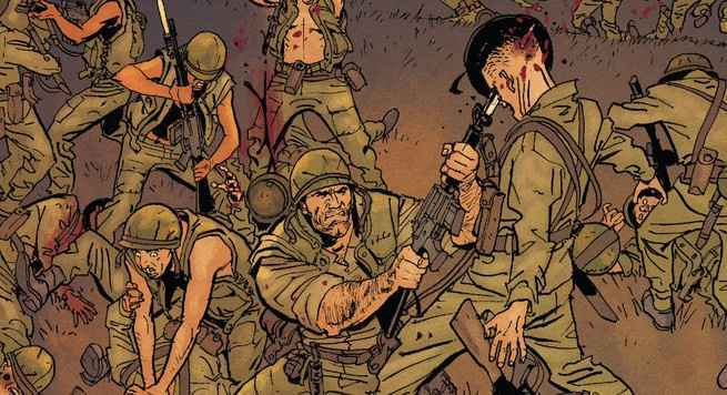 Best Comics of 2018 - Punisher The Platoon