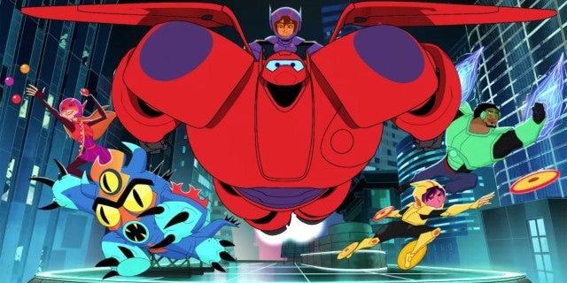 big hero 6 series disney channel