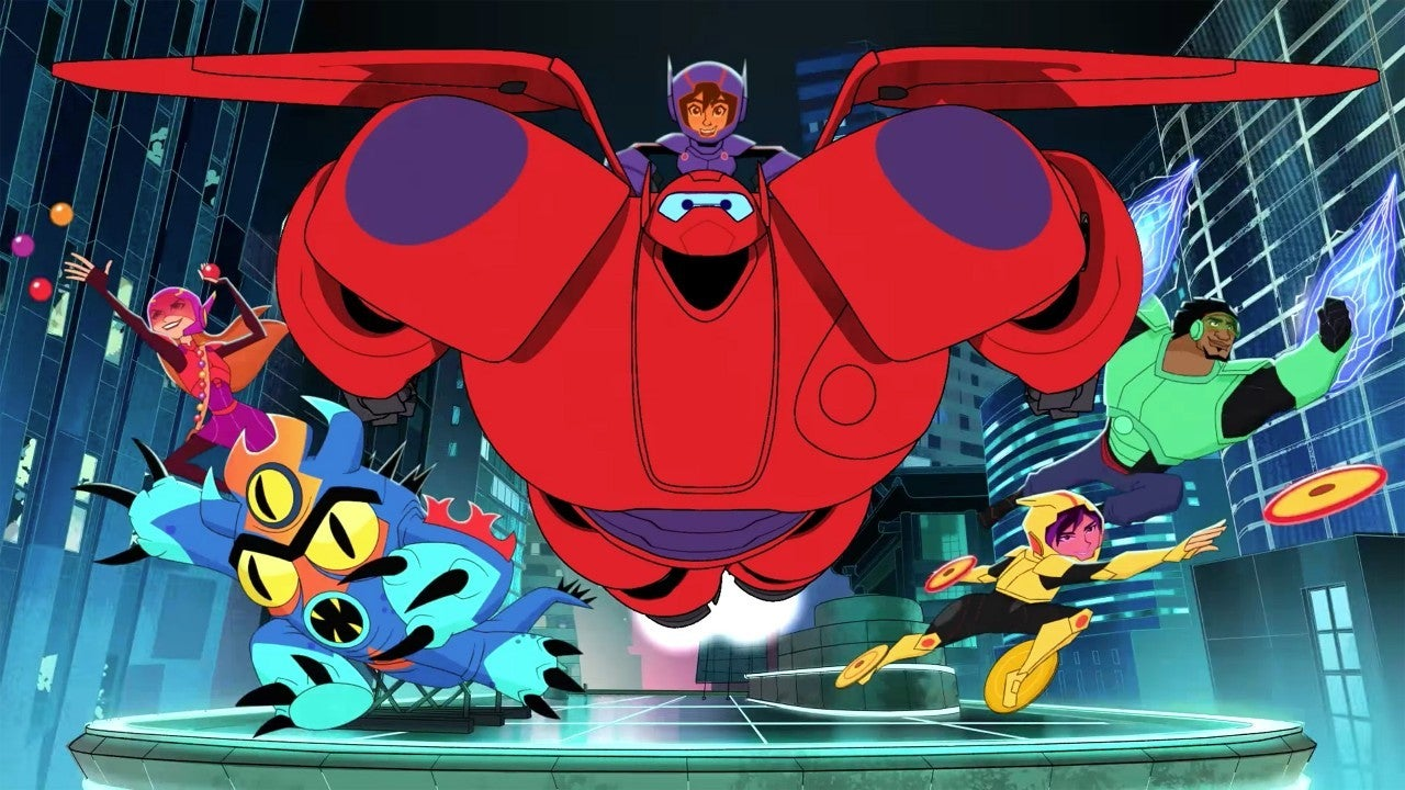 big hero 6 series disney channel