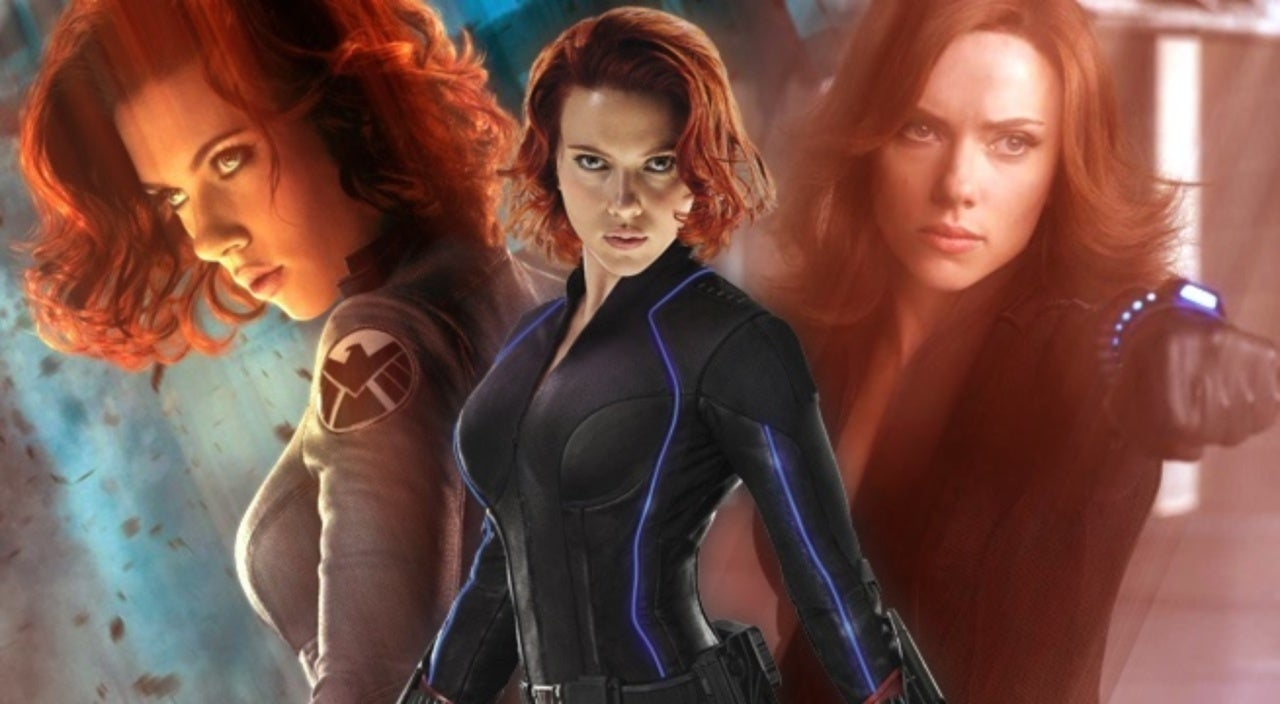 avengers 4' close-up of black widow's new hairstyle
