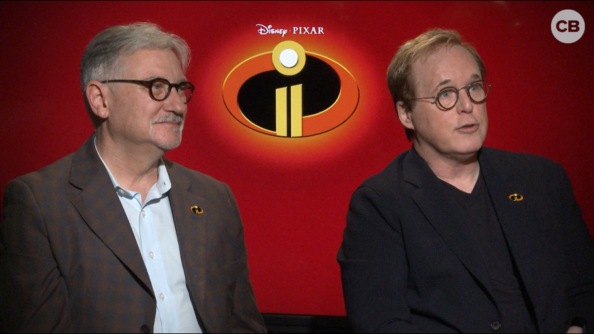 Brad Bird and John Walker Talk the Incredibles 2 screen capture