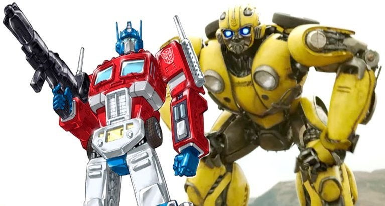 Bumblebee Optimus Prime comicbookcom
