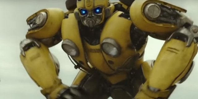 transformers bumblebee the movie trailer released