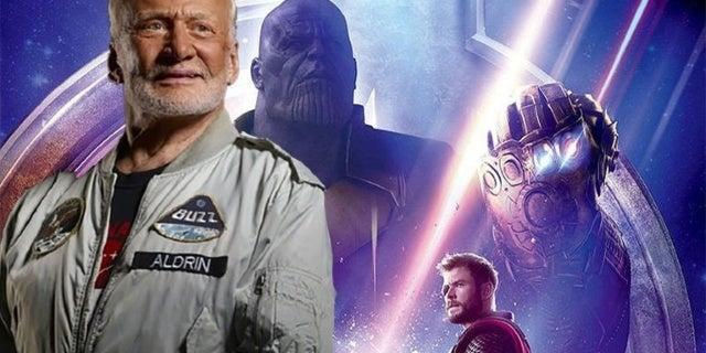 buzz aldrin avengers infinity war