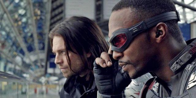 Captain America Civil War Sam Bucky