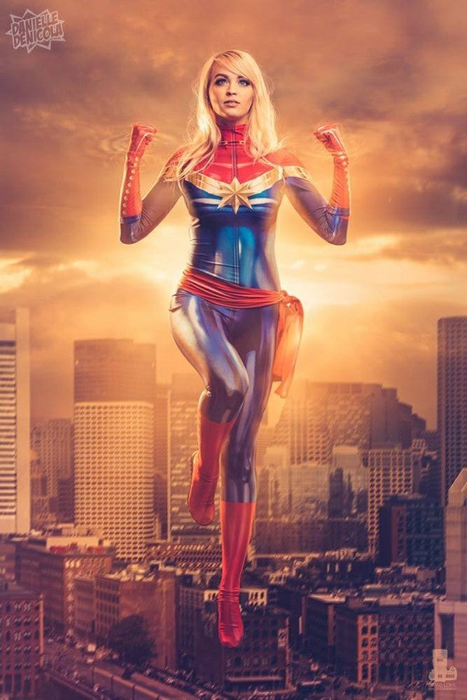 Captain-Marvel-Cosplay-Danielle-DiNicola-David-Love