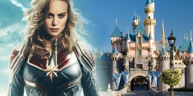 captain marvel disneyland