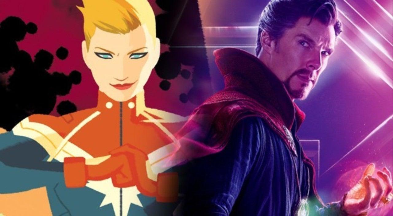 'Avengers: Infinity War' Theory Says Doctor Strange Caused Captain Marvel's Return