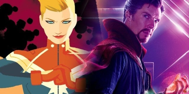 'Avengers: Infinity War' Theory Says Doctor Strange Caused Captain Marvel's Return