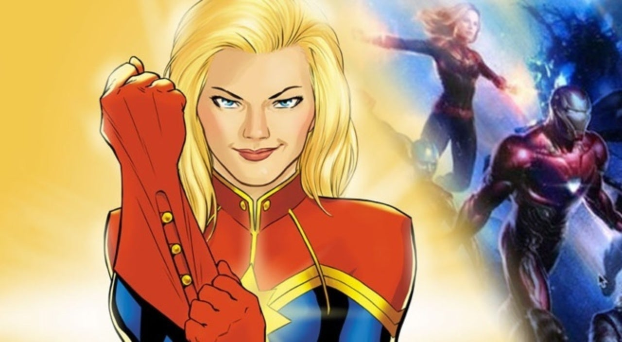 Captain Marvel Fans Can\'t Get Enough Of That New Movie Art