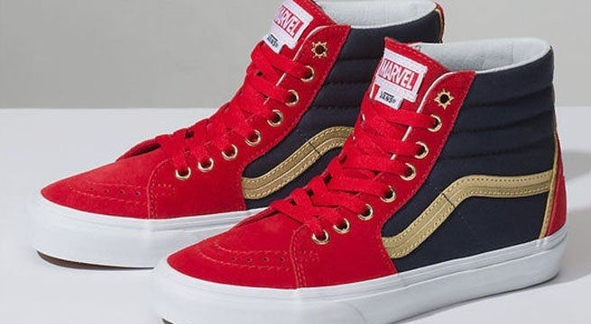 288f11cebc4 Marvel Fans Aren t Happy With Vans  Handling Of Captain Marvel Shoes