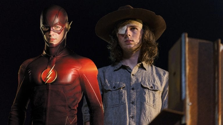 Chandler Riggs the Flash comicbookcom