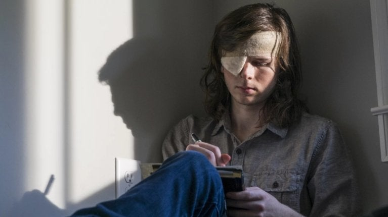 Chandler Riggs Walking Dead