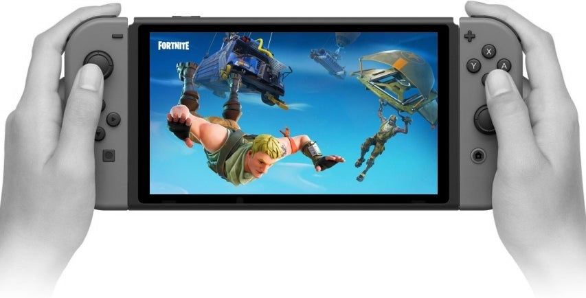 Fortnite In Portable Mode Fortnite Nintendo Switch Ratings Listing Appears