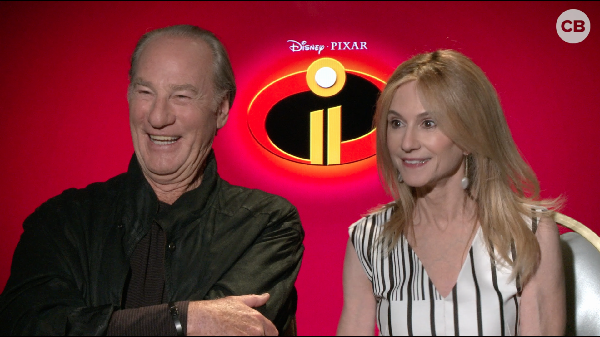 Craig T. Nelson and Holly Hunter Talk the Incredibles 2 screen capture