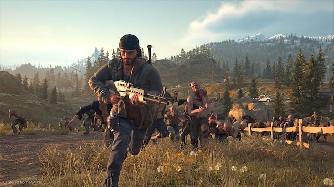 days gone running