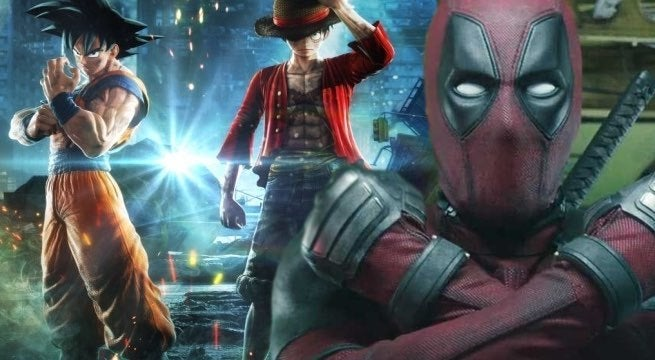 deadpool jump force