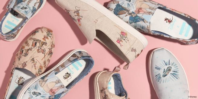 62879ff25d6 The Disney x Toms Shoe Collection Kicks Off With Cinderella Styles