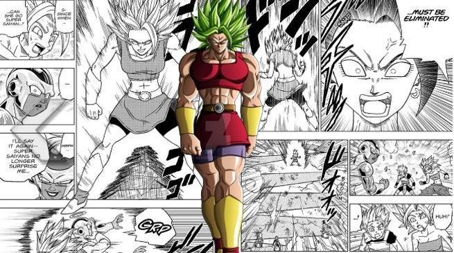 Dragon Ball Super Manga Kale legendary Super Saiyan Berserker Power Levels