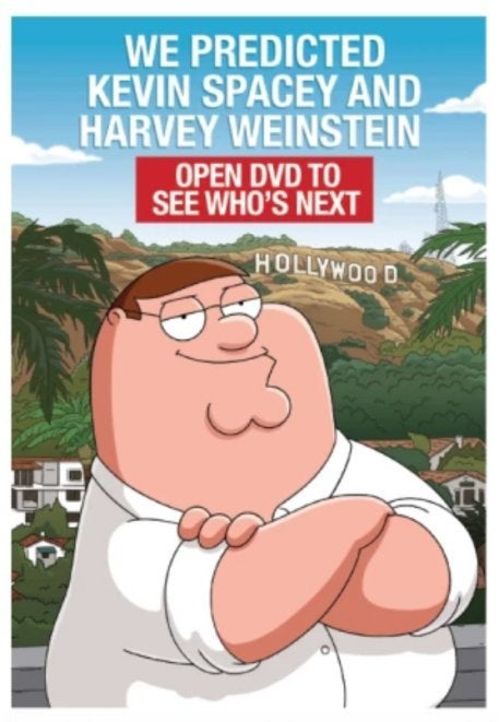 Family Guy Emmy mailer 2018