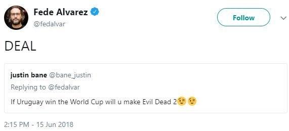 fede alvarez evil dead sequel