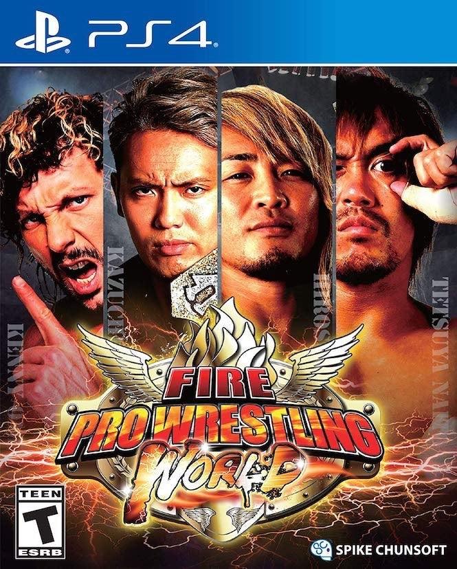 Fire Pro Wrestling Cover