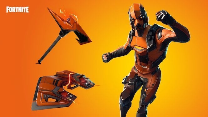 Fortnite Item Shop Adds New Vertex Outfit
